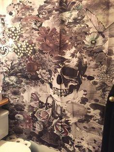 My shower curtain