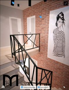 Interior Stairs, Interior Exterior, Home Interior Design, Railing Design, Staircase Design, Winding Stair, Staircase Handrail, Railings, Stair Gallery