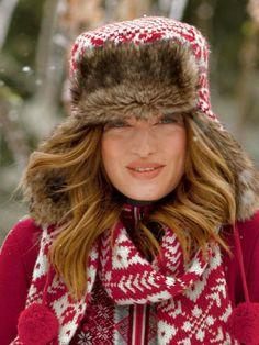 Nie mehr kalte Öhrchen  Mütze auf und raus in die Kälte!