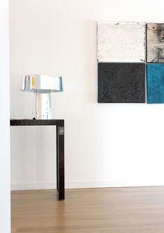 #Glam table #lamp, design by Luc Ramael for #Prandina www.prandina.it