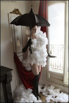 Image result for mother nature storm mad costume