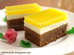 Czech Desserts, Cheesecake, Food And Drink, Anna, Gardening, Cakes, Hampers, Cheese Cakes, Garten