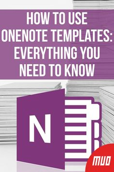 OneNote templates are essential for true productivity. Here's all you need to know to edit and create your own OneNote templates. Onenote Template, Notes Template, Planner Template, Templates, Technology Hacks, Computer Technology, Computer Programming, Medical Technology, Energy Technology