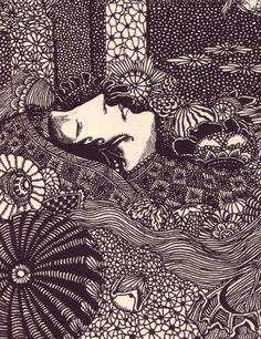 illustration by Harry Clarke via 50 watts