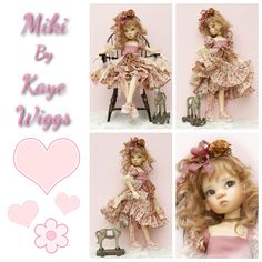 Miki MSD BJD by Kaye Wiggs-from The Resin Cafe
