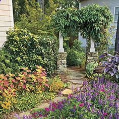 Fill Your Yard With Flowers. How to pick the right plants to fill your yard with surefire color all summer long.