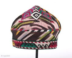 hat from central asia - uzbekistan