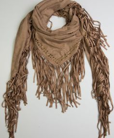 Suede Marvelous Scarf from Spring Collection 2016 by Definite Glam <3