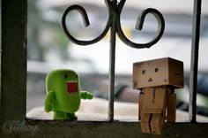 Danbo and Domo | Danbo and Domo-kun 2 by jilung