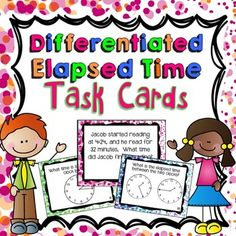 Time is a hard concept to teach! These 64 time task cards can help make teaching time a little EASIER and a little more FUN for you and your students! Elapsed Time, Teaching Time, Special Education Teacher, 3rd Grade Math, Scaffolding, Student Learning, Task Cards, More Fun, Middle School