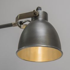 Wall Lamp Dazzle Old Grey with Arms - LED wall lamps - LED Lighting - lampandlight.co.uk