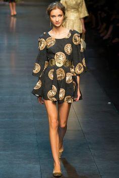 Dolce Gabbana SS14 * AURORA VEGA
