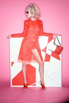 Rosie Huntington Whiteley Pose for Harpers Bazaar Story