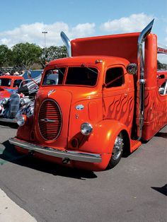 Ford Big Rig- I think that I would tone down the flames