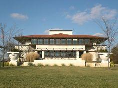 The Westcott House by Frank Lloyd Wright