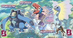 Pokemon Memes, Pokemon Fan Art, New Pokemon, Pokemon Fusion, Pokemon Stuff, Fossil Pokemon, Digimon, Funny Pictures, Creatures