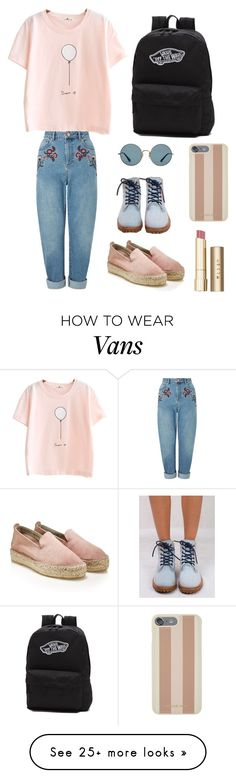 """First Day of High School "" by samantha-esparza on Polyvore featuring Miss Selfridge, Timberland, Vans, Michael Kors, Stila and Ray-Ban"