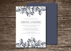 Wedding Invitation by aticnomar on @creativemarket