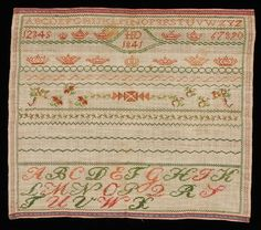 A 19th Century DUTCH Sampler Dated 1841