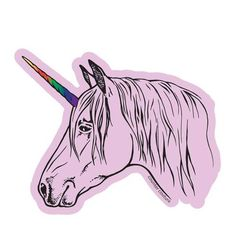 This fabulous large vinyl sticker high) is printed with a matte finish - perfect for books & laptops. Makes a perfect gift for a friend, yourself, or anyone who loves Unicorns! -Made in the USA -Weather Proof -Scratch Proof Small Zipper Pouch, Funny Decals, Unicorn Stickers, Ceramic Coffee Cups, Cork Coasters, Flour Sack Towels, Water Bottle, Weather, Puppies