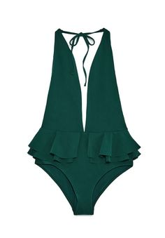 Un maillot de bain une pièce Zara / One-Piece swimwear Zara Summer Outfits Women, Spring Outfits, Mode Du Bikini, Shorty, Bikini Fashion, Fashion Swimsuits, Beachwear For Women, One Piece Swimwear, Pretty Outfits