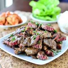 Korean BBQ Short Ribs (Kalbi)