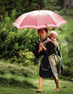 Sisterliness - Sapa, Vietnam