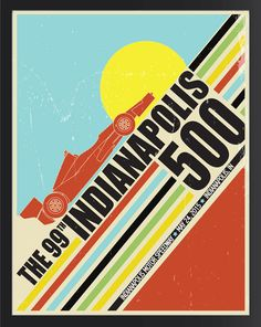 Indianapolis 500 2015 Event Poster