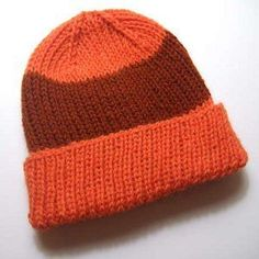 Stop the search. This is the only knit hat pattern you'll ever need. With sizing options ranging from newborn all the way up to an adult's extra large, the Essential Knit Hat Pattern is a basic you'll love knitting again and again.
