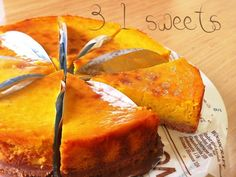 I want to keep it secret ✧ Sweet Potato & Pumpkin Tart ✧ Making Sweets, Easy Sweets, Homemade Sweets, Sweets Recipes, Cooking Recipes, Cake Recipes, Pumpkin Tarts, Asian Desserts, Japanese Desserts