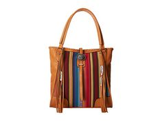 Gypsy SOULE Southwest Serape Fringe Tote Tan - Zappos.com Free Shipping BOTH Ways