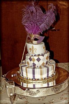 183 best Masquerade & Mardi Gras cakes images on Pinterest | Mask ...