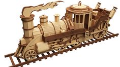 Professor Feather's Time Train - Steam Punk
