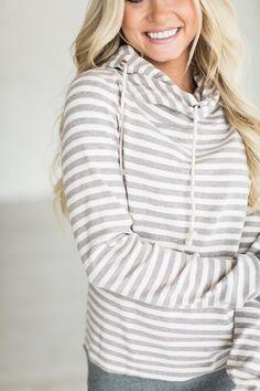 CowlHood Sweatshirt - Lavender