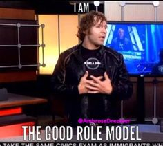 Of course he is... if u were a watcher of Jon Moxley before WWE you would know what he has been through, and everything he has put up with over the years and the fact he is an amazing wrestler and promo god just explains why he is my role model FOREVER and i will always love Dean Ambrose no matter what<3<3<3