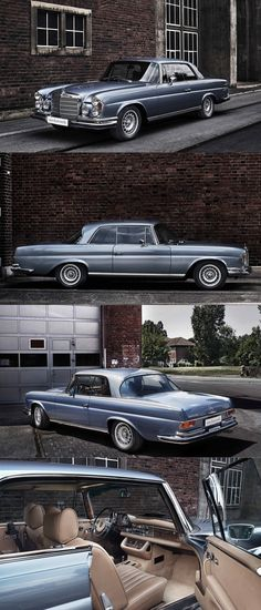 1971 Mercedes-Benz 280 SE Coupé / W111 / blue / Germany