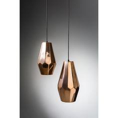 Stella Pendant Light Copper | Domayne