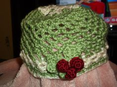 Ladies snowflake Hat (will give photo of snowflake)