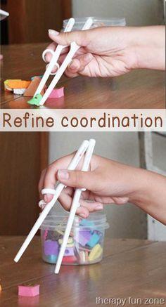 refine coordination with chopsticks