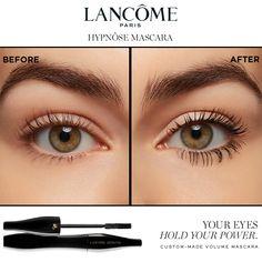 Makeup Tips, Beauty Makeup, Hair Makeup, Lancome Hypnose Mascara, A Frame Swing, Lash Up, Colorful Eye Makeup, Aesthetic Makeup, Eyebrow Makeup