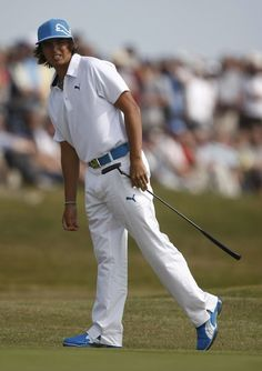 Rickie Fowler: Love his style. The only exception to golf is boring