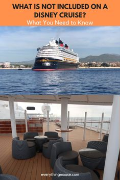 Learn what is NOT INCLUDED in the cost of a Disney Cruise. What will you pay extra for and how can you save money on your Disney Cruise once you are onboard? Disney Cruise Alaska, Disney Dream Cruise Ship, Disney Wonder Cruise, Disney Fantasy Cruise, Disney Ships, Disney Cruise Line, Bahamas Cruise, Cruise Vacation, Disney Vacations