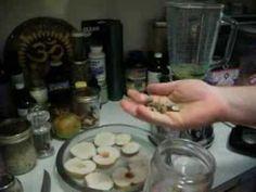 ♥ ♥ ♥ RAW FOOD DIET ♥ ♥ ♥  Apple Chips w/ Nut Butter & Goji Berries ♥   by Jordan Blaikie | Liver Flush Man http://LiverFlushing.com