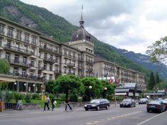 SUIZA Gran Hotel Victoria, Interlaken
