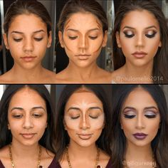 How to Contour Face Like a Pro And#8211; the Best Makeup Tricks ★ See more: https://makeupjournal.com/contour-face-makeup-tricks/ #nails