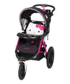 Hello Kitty Calypso Jogger Stroller by Hello Kitty #zulily #zulilyfinds