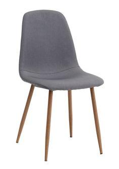 Spisebordsstol JONSTRUP grå/lys eg | JYSK