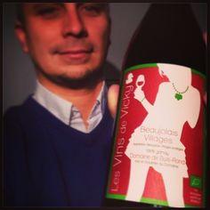 Aujourd'hui c'est #BeaujolaisNouveau en Belgique aussi ! Mais pas n'importe lequel : celui de @vickywine ! #vinsdevicky