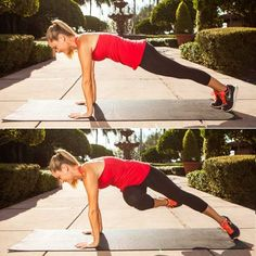 Eight moves to strengthen your lower abs
