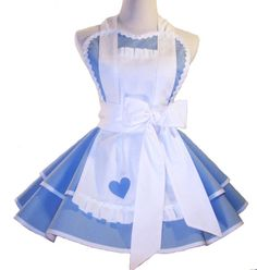 Alice in Wonderland Costume Apron Alice In by WellLaDiDaAprons, $65.00